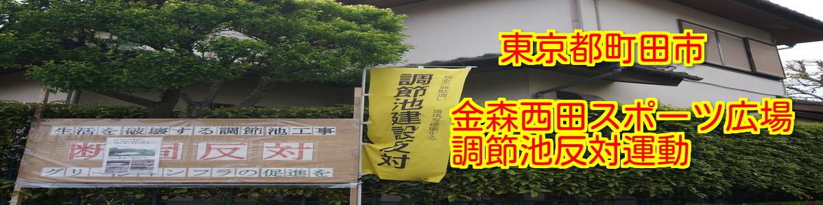 金森西田スポーツ広場調節池問題